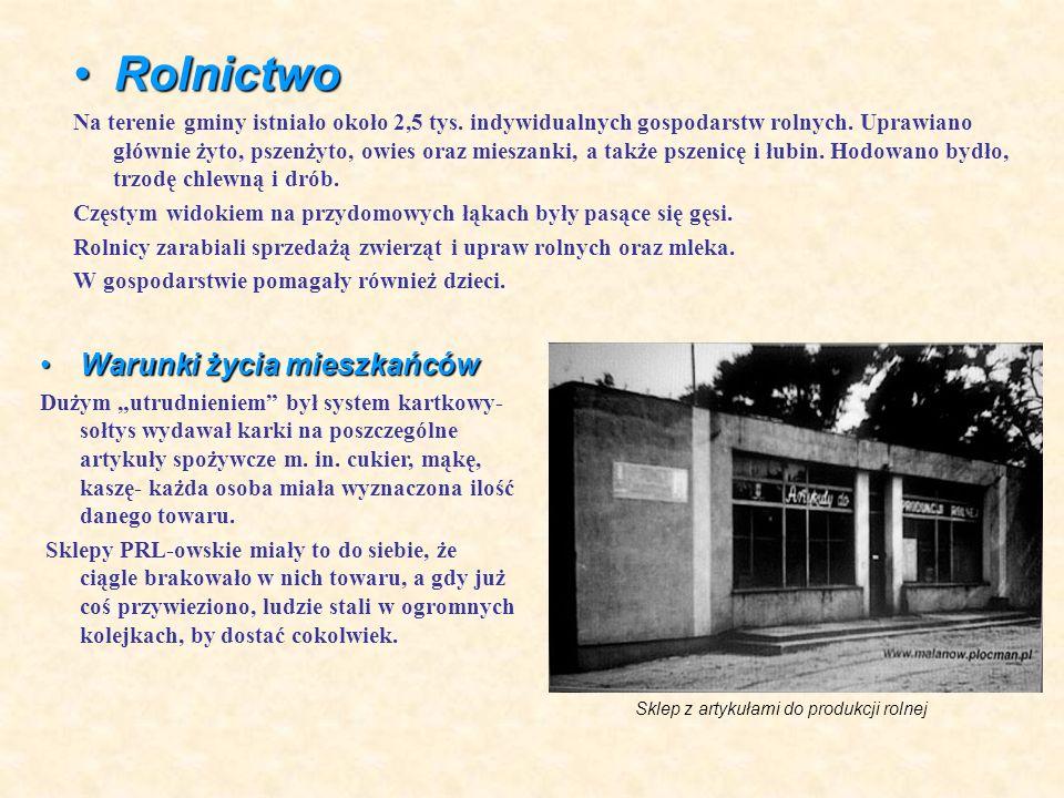 Mieszkańcy gminy mają duży dostęp do informacji z Polski i Świata poprzez prasę, radio, telewizję, internet.