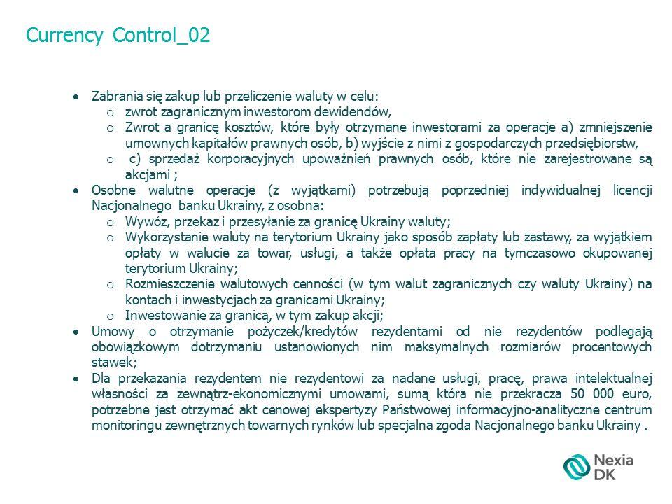 Customs Duties_01 Przy przemieszczeniu towaru przez celnie Ukrainy opłaca się takie myta:  myto;  Akcyzowy podatek;  Podatek VAT Oprócz tego, można opłacić:  Państwowe myto Podstawą naliczenia celnych opłat, zazwyczaj jest celna wartość towaru, która wyznacza się na podstawie (cena do uzgodnienia) i drugorzędnych metod (5 metody) Celem naliczenia myta na Ukrainie wprowadzona i działa Ukraińska klasyfikacja towarów zewnętrzno – ekonomicznych działalności (UKT ZED), która zakłada się na podstawie Harmonizowanej systemy opisu i kodowania towaru I Kombinowanej nomenklatury UE.
