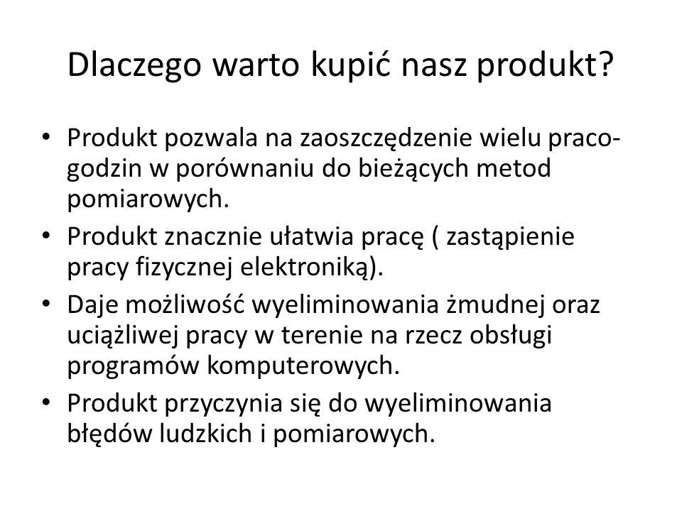Dlaczego warto kupić nasz produkt.