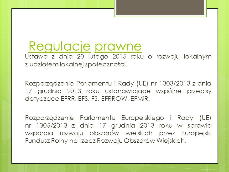 Regulacje prawne Zarządzenie Komisji (UE) nr 1407/2013 z dnia 18 grudnia 2013 roju w sprawie stosowania art.
