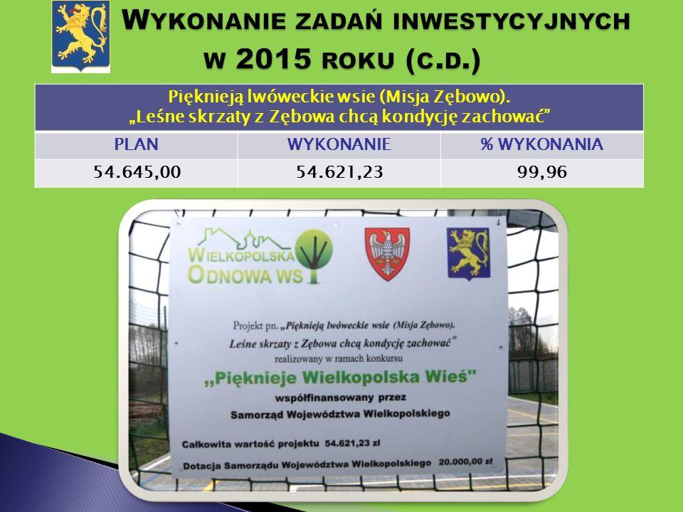 Pięknieją lwóweckie wsie (Misja Zębowo).