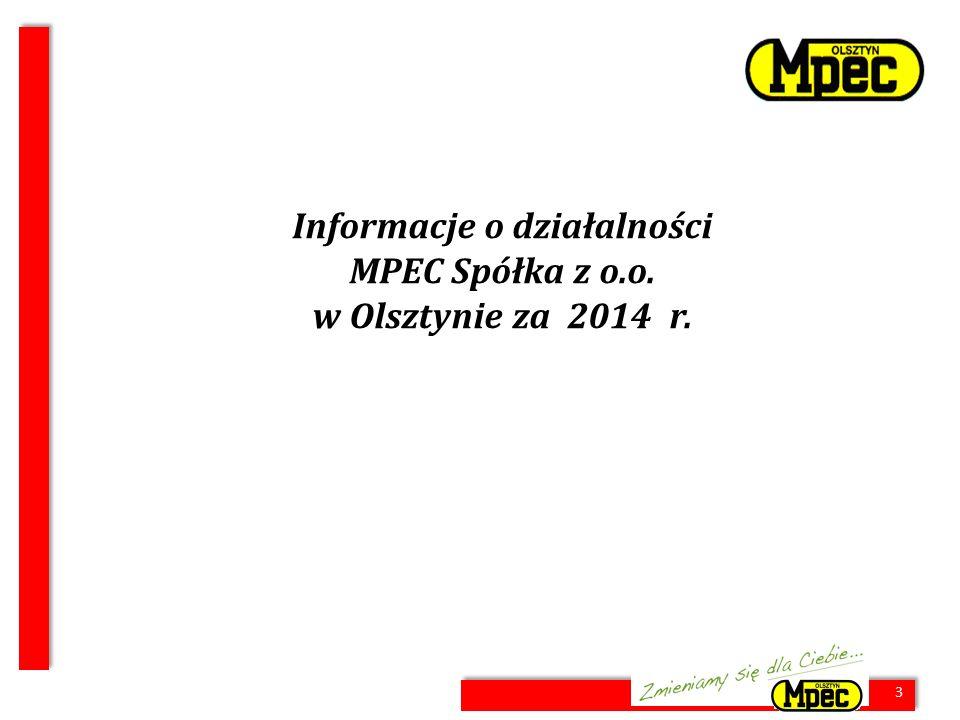 14 Nakłady inwestycyjne, amortyzacja i zysk netto [mln zł] * wykonanie za 2012 r.