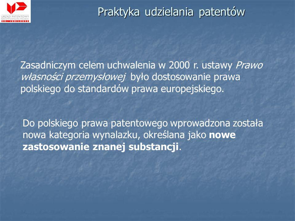 Zasadniczym celem uchwalenia w 2000 r. ustawy Prawo własności przemysłowej było dostosowanie prawa polskiego do standardów prawa europejskiego. Do pol
