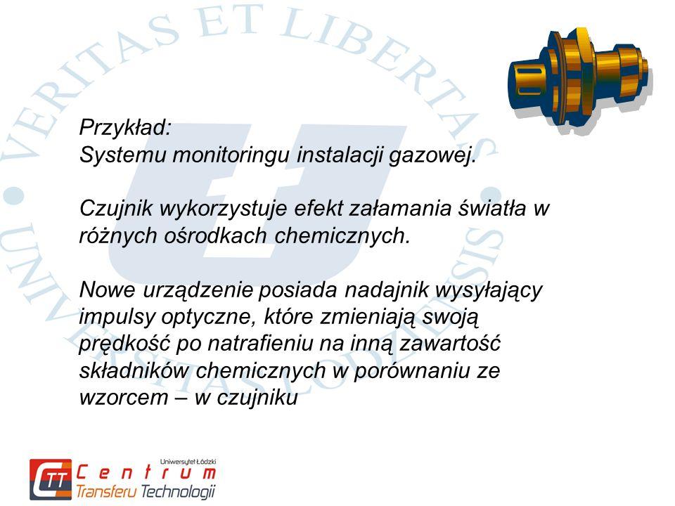 Przykład: Systemu monitoringu instalacji gazowej.