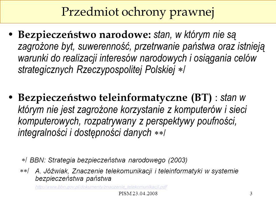 PISM 23.04.200814 Narzędzia hakerskie (art.269 b kk) § 1.