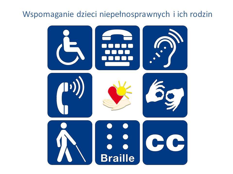 Wspomaganie dzieci niepełnosprawnych i ich rodzin
