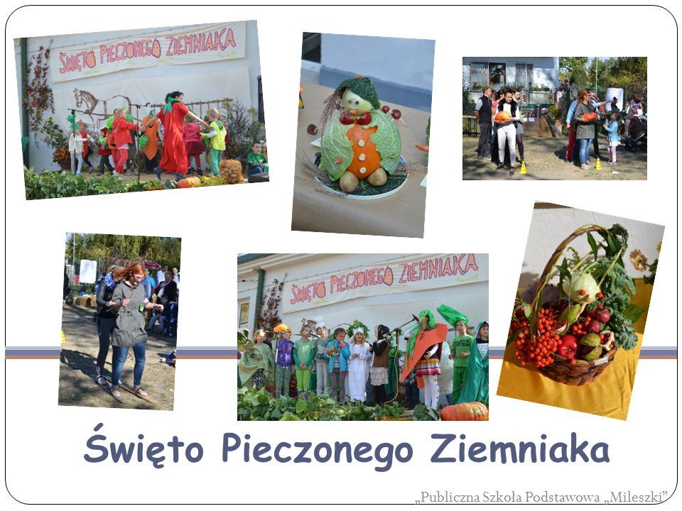 """""""Publiczna Szkoła Podstawowa """"Mileszki Święto Pieczonego Ziemniaka"""