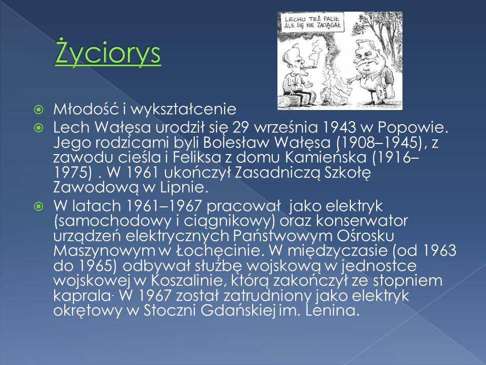 """ W 1995 założył pozarządową organizację Fundacja """" instytut Lecha Wałęsy  W latach 1996–1997 próbował organizować własną partię polityczną, jednak ostatecznie poparł kampanię wyborczą AWS która skończyła się w 1997 roku wygraną tego ugrupowania w wyborach parlamentarnych."""