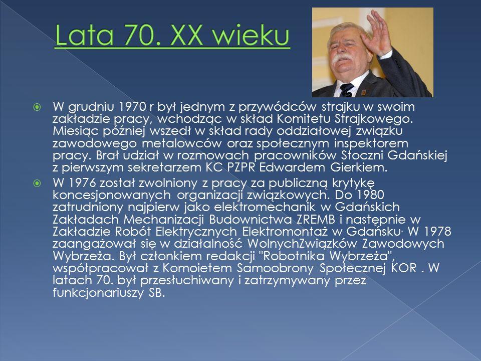  W sierpniu 1980 r brał udział w organizowaniu zaplanowanego przez Bogdana Borusewicza strajku w Stoczni Gdańskiej.
