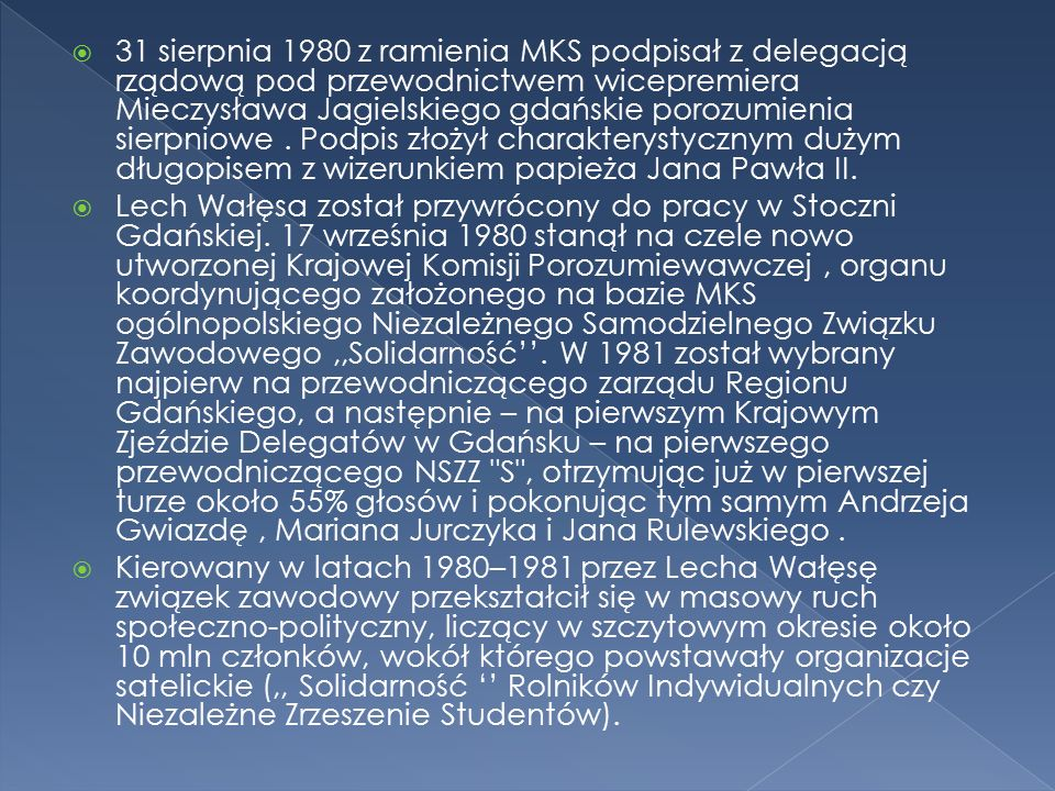  Za działalność dla dobra publicznego, dobrosąsiedzkich stosunków i pokoju Lech Wałęsa został odznaczony przyznaną Zarząd Krajowy Ogólnopolskiego Stowarzyszenia Społecznego Misja Pojednania (powołanego w wyniku historycznego spotkania i pojednania się w 1993 obrońców Westerplatte i marynarzy z pancernika Schleswig-Holstein) Komandorię Missio Reconciliationis.