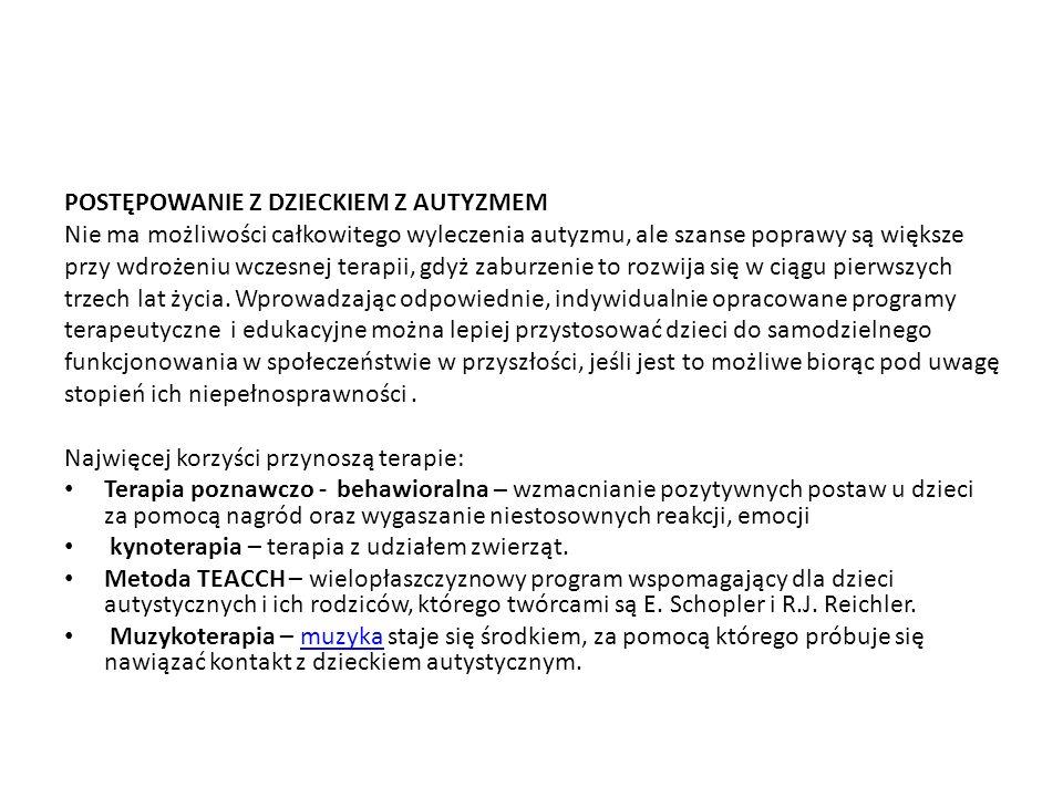 Wrocław SP ZOZ, Oddział Dzienny Psychiatryczny dla Dzieci i Młodzieży we Wrocławiu, Poradnia Autystyczna ul.