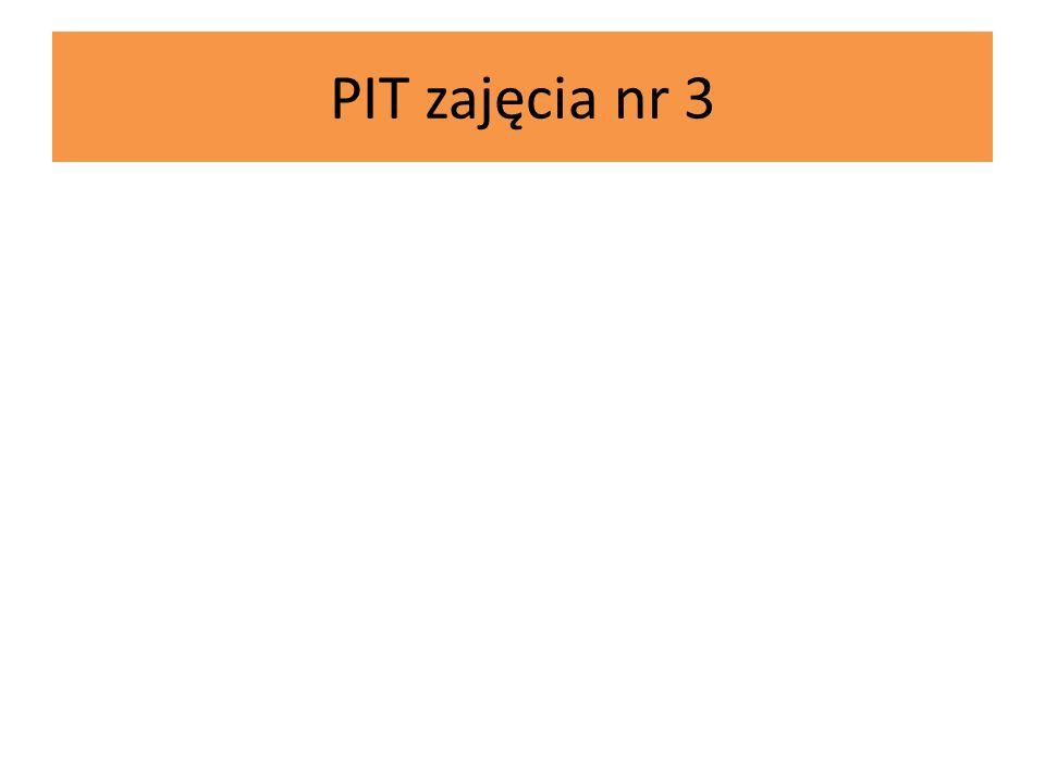 PIT zajęcia nr 3