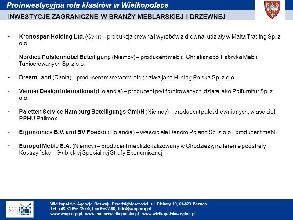 1. Einleitung Wielkopolska Agencja Rozwoju Przedsiębiorczości, ul. Piekary 19, 61-823 Poznan Tel. +48 61 656 35 00, Fax 6565366, info@warp.org.pl www.