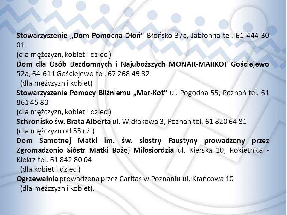 """Stowarzyszenie """"Dom Pomocna Dłoń Błońsko 37a, Jabłonna tel."""