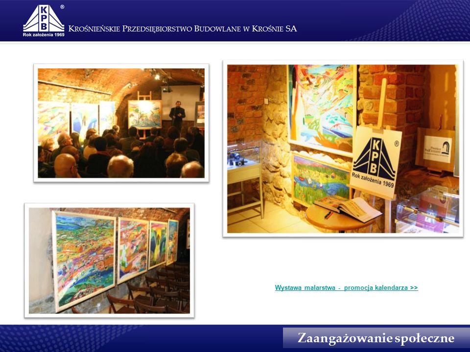Wystawa malarstwa - promocja kalendarza >> Zaangażowanie społeczne