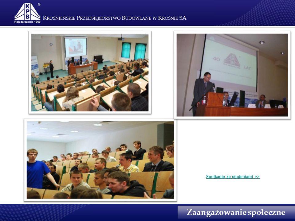 Spotkanie ze studentami >>