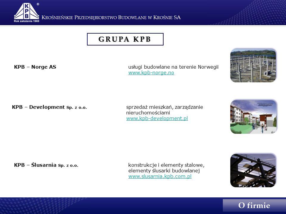 GRUPA KPB KPB – Ślusarnia Sp. z o.o.