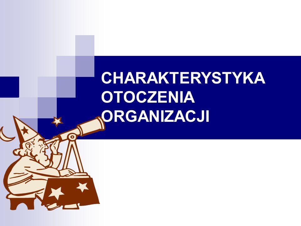 CHARAKTERYSTYKA OTOCZENIA ORGANIZACJI