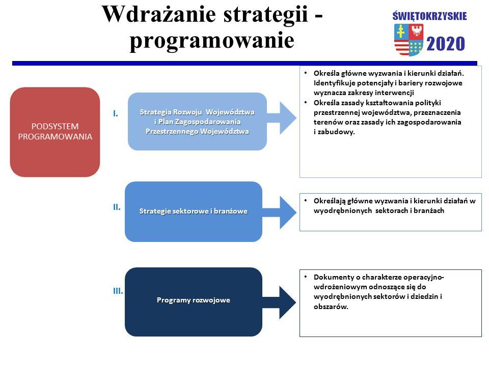Wdrażanie strategii - programowanie