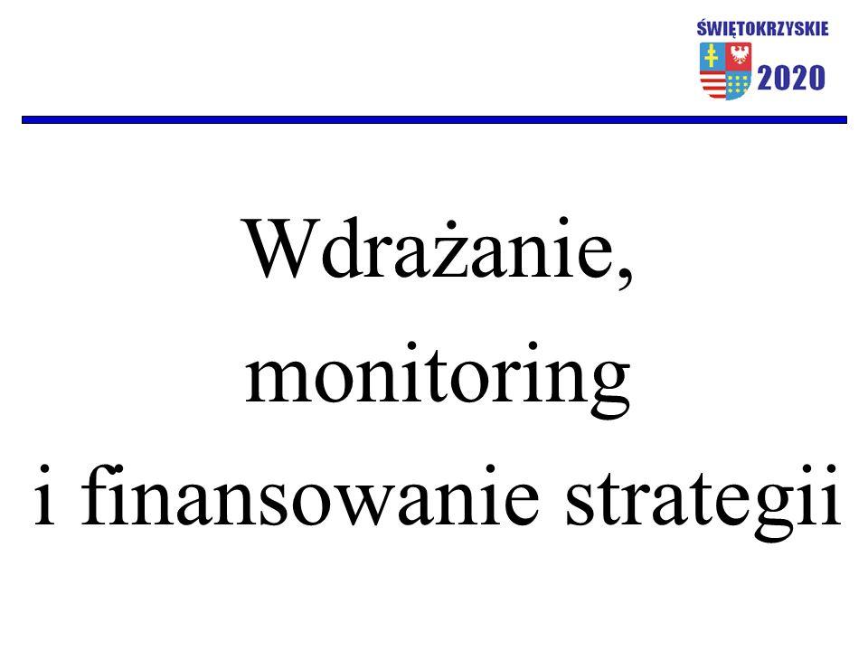 Wdrażanie, monitoring i finansowanie strategii