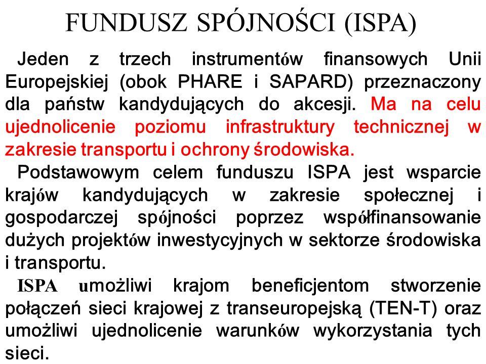 Jeden z trzech instrument ó w finansowych Unii Europejskiej (obok PHARE i SAPARD) przeznaczony dla państw kandydujących do akcesji.