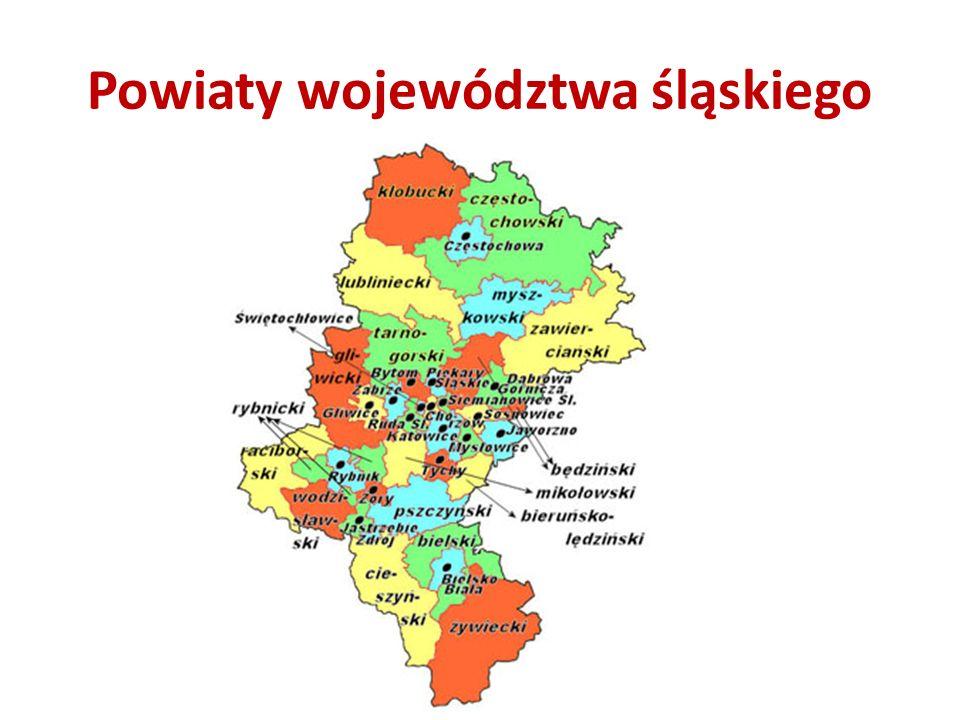 Powiaty województwa śląskiego