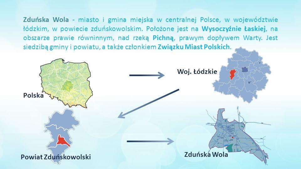 Zduńska Wola - miasto i gmina miejska w centralnej Polsce, w województwie łódzkim, w powiecie zduńskowolskim.