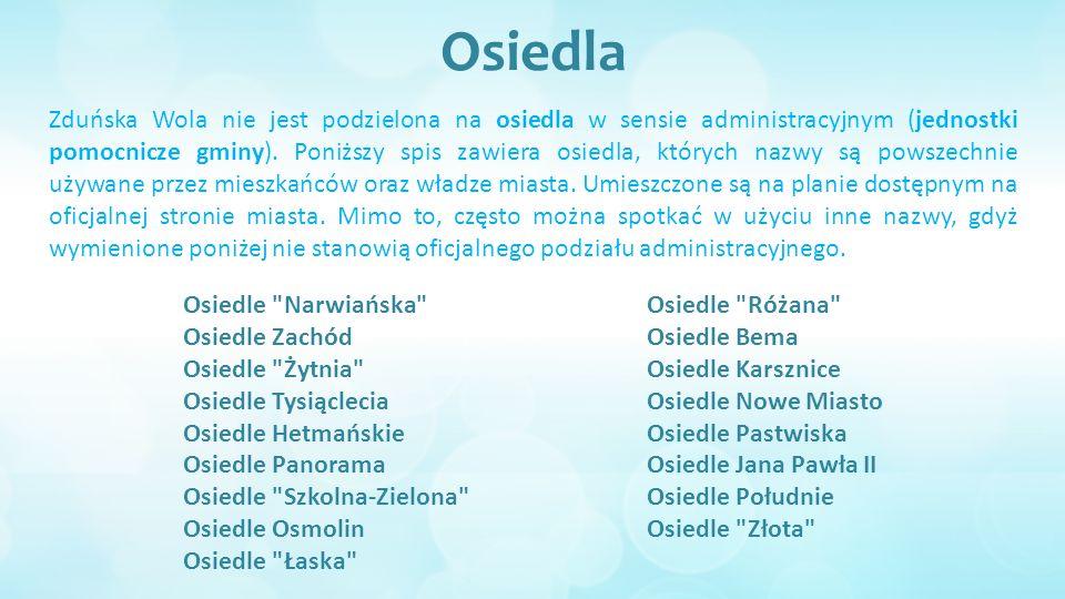 Demografia Zduńska Wola liczy ok.44 tys. mieszkańców, plasując się przy tym na 102.