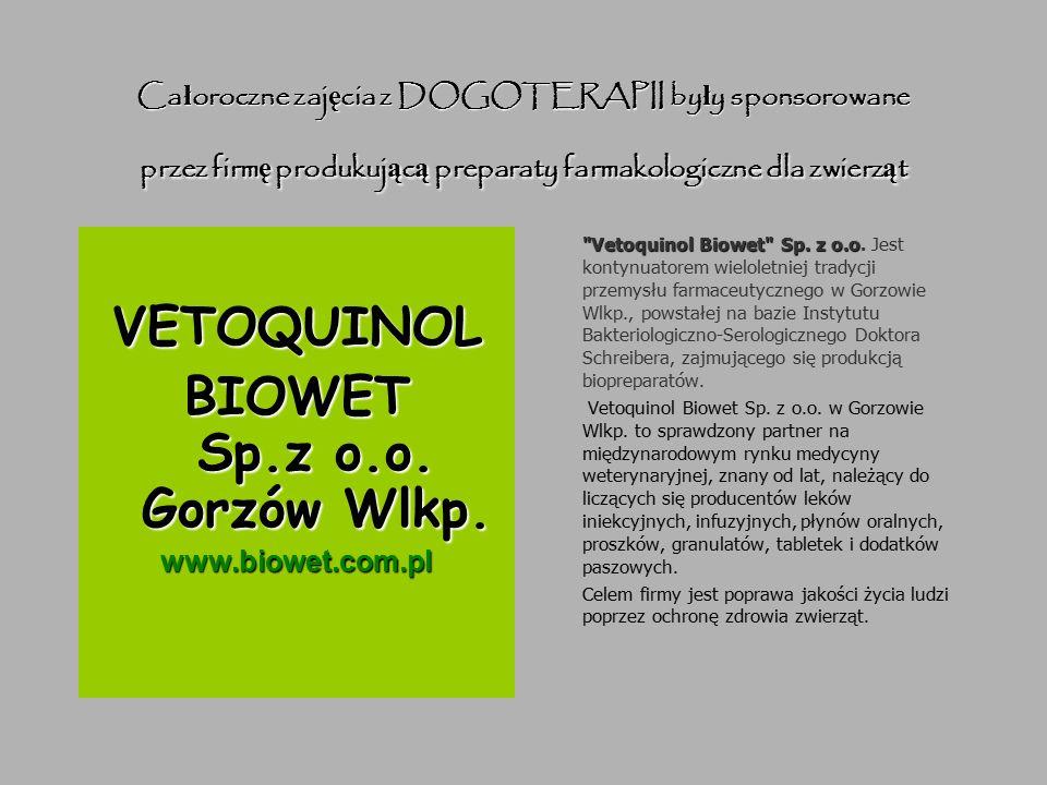 Odrobina statystyki Vetoquinol Biowet Sp.