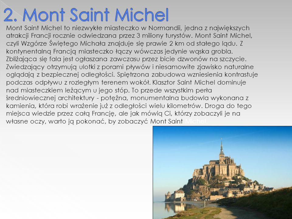 Mont Saint Michel to niezwykłe miasteczko w Normandii, jedna z największych atrakcji Francji rocznie odwiedzana przez 3 miliony turystów.