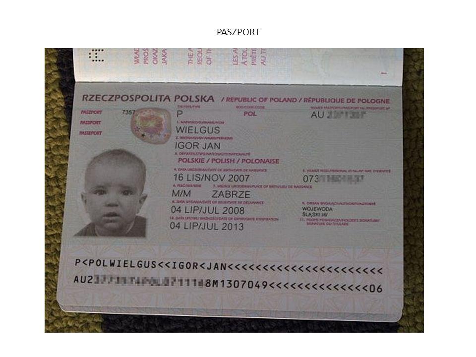 1.Wydaje wojewoda lub konsul 2.Każdy obywatel RP 3.Biuro paszportowe Urzędu Wojewódzkiego 4.