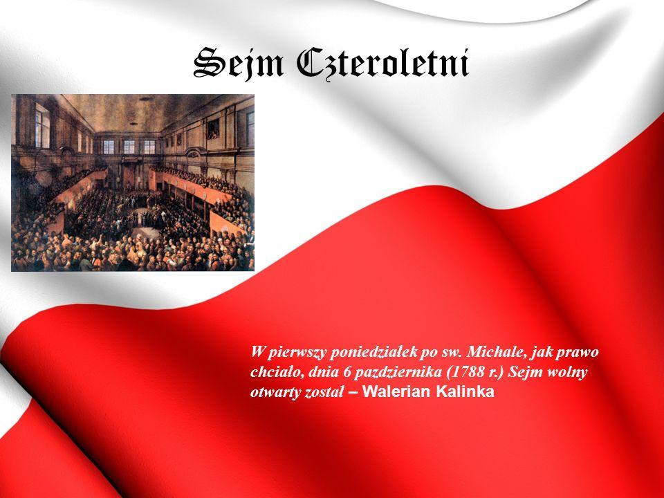 Sejm Czteroletni W pierwszy poniedziałek po sw.