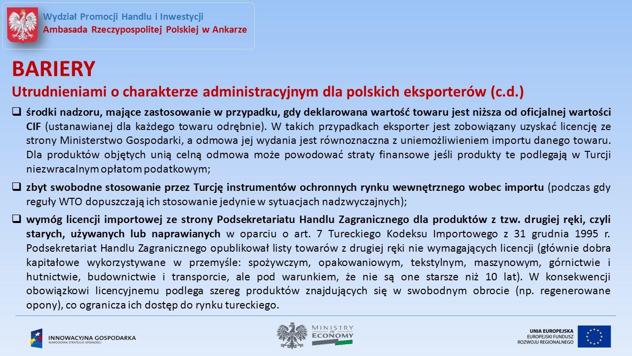 ankara@trade.gov.pl www.ankara.trade.gov.pl Wydział Promocji Handlu i Inwestycji Ambasada Rzeczypospolitej Polskiej w Ankarze