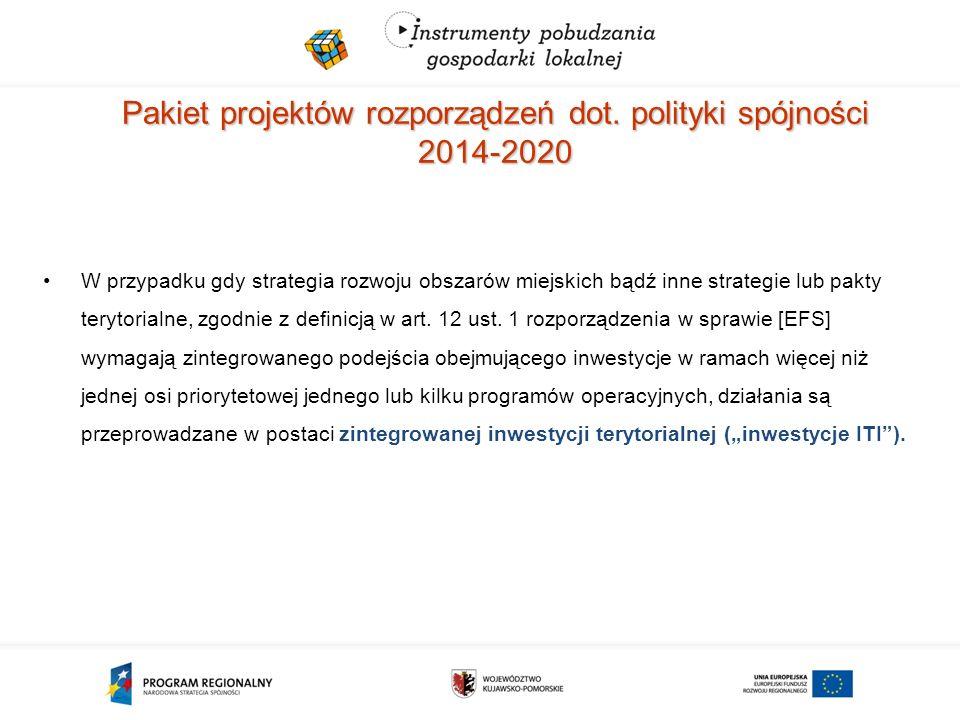 Pakiet projektów rozporządzeń dot.