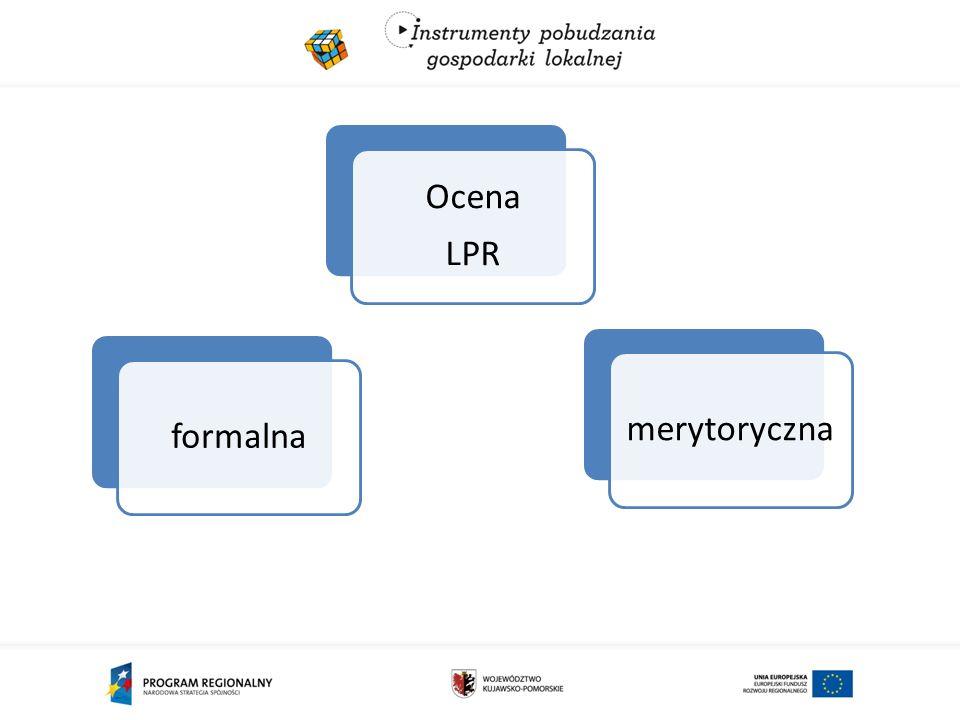formalnamerytoryczna Ocena LPR