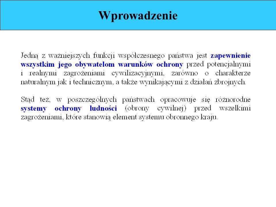 Struktura ochrony ludności (c.d.)