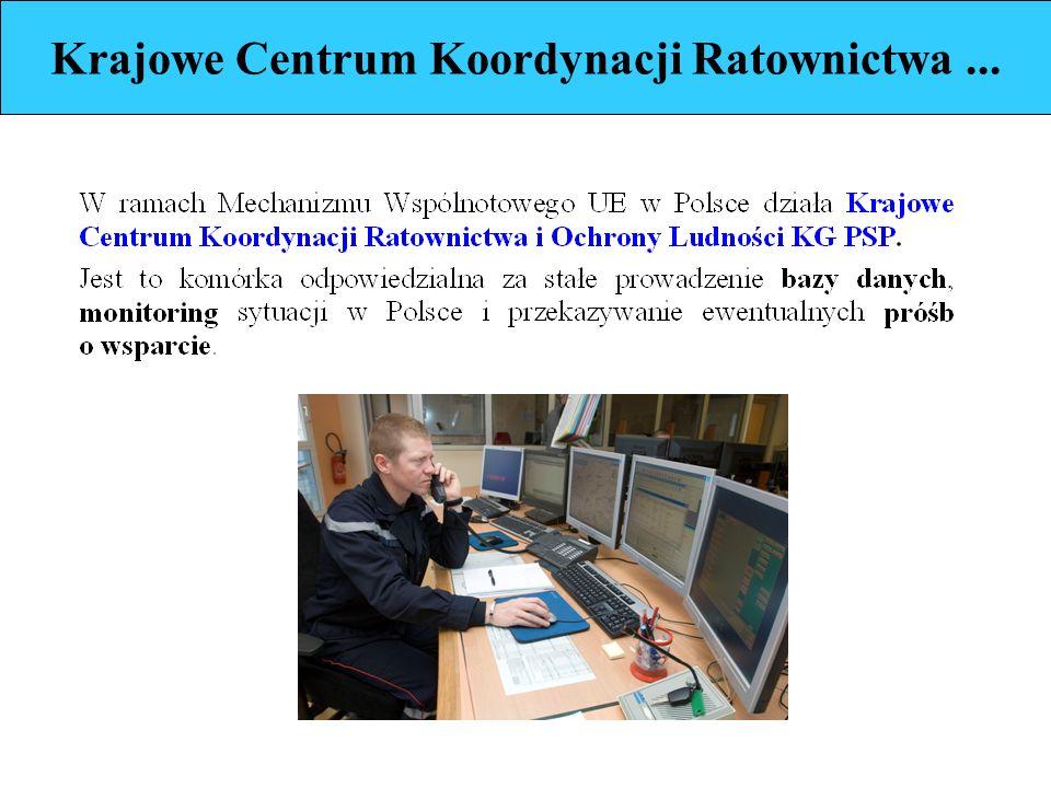 Krajowe Centrum Koordynacji Ratownictwa...