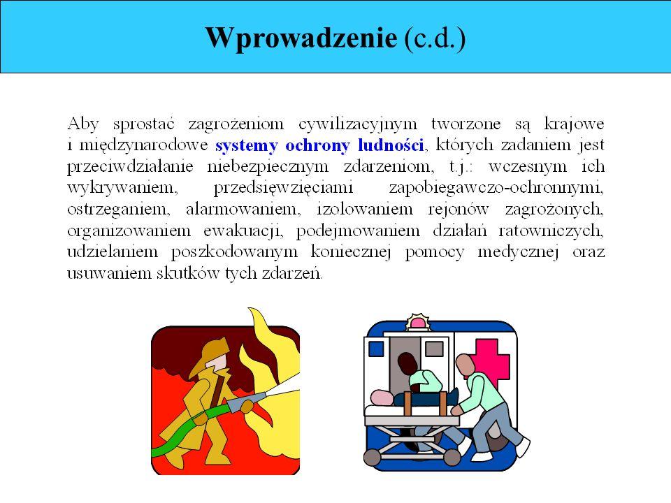 Edukacja dotycząca (c.d.) Zasad ostrzegania i alarmowania