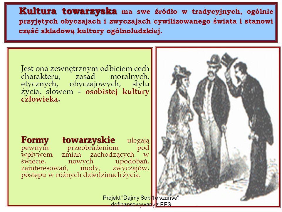 Ubiór Najczęściej popełniane błędy przy ubiorze: Noszenie przez mężczyznę zbyt krótkich skarpetek; Noszenie przez mężczyznę koszuli z krótkim rękawem pod marynarką; Noszenie przez mężczyznę muszki lub krawata z węzłem fabrycznie związanym; Używanie spinki do krawata; Noszenie w kieszonce garnituru chusteczki identycznej z krawatem; Ubieranie przez kobietę prześwitującej bluzki; Brak dostosowania długości spódnicy do figury i sytuacji; Noszenie sandałów do garnituru; Noszenie skarpetek do sandałów; Noszenie przez mężczyznę szarych lub siwych butów; Ubieranie przez kobietę złotych lub srebrnych butów do stroju innego niż wieczorowy; Używanie przez mężczyznę torebki na dokumenty; Kolorowy smoking; Niedoprasowane spodnie i niewypastowane buty; Noszenie obuwia sportowego do garnituru, marynarki lub spódnicy; Noszenie lakierek do spodni typu jeans.