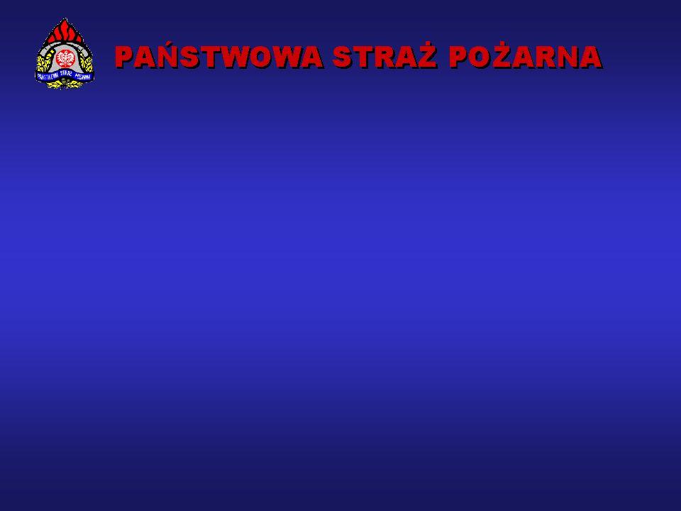 PAŃSTWOWA STRAŻ POŻARNA W POLSCE Powołana na mocy Ustawy o ochronie przeciwpożarowej z 24 sierpnia 1991 roku