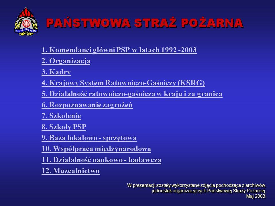 Praktyki zawodowe kadetów podczas służb pełnionych w Jednostce Ratowniczo-Gaśniczej Szkoły Aspirantów PSP.