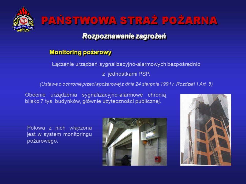 Rozpoznawanie zagrożeń Ofiary śmiertelne w pożarach w latach 1993-2002 Rok Liczba pożarów Ofiary śmiertelne w pożarach Ogółem Na 1 mln osób rocznie Na 10 tys.