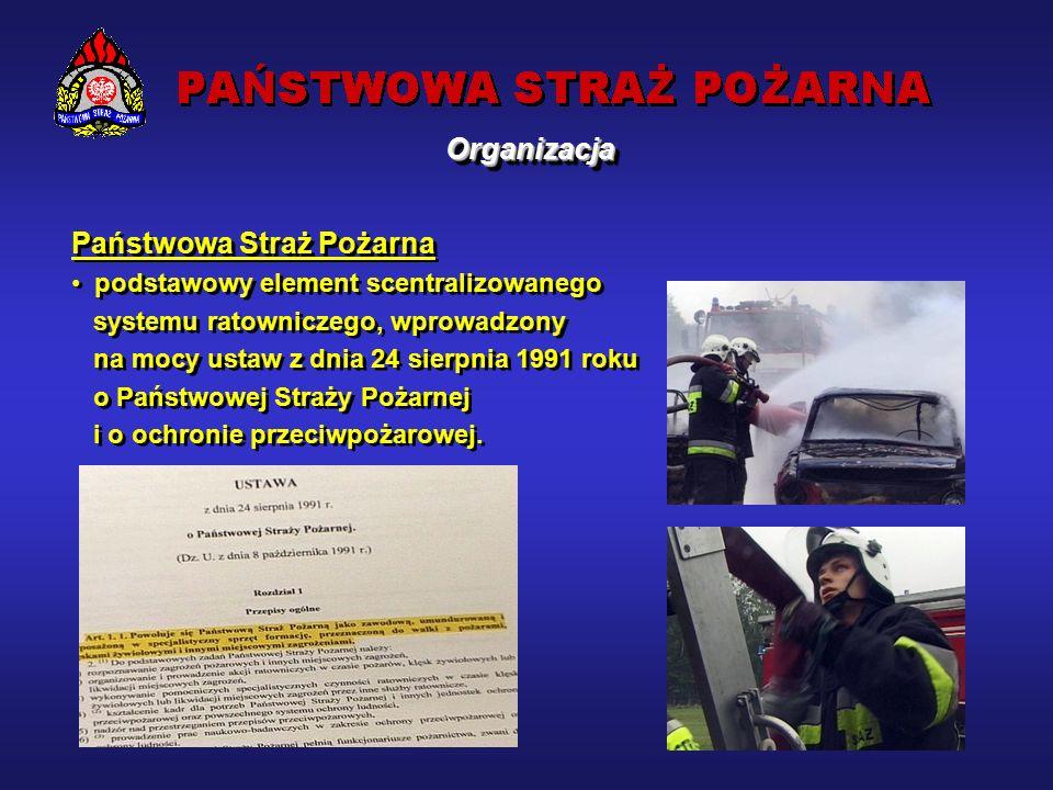 Potencjał krajowego systemu ratowniczo-gaśniczego Obecnie: 508 jednostek ratowniczo-gaśniczych PSP, w tym szkolne, 5 szkół PSP, 3261 jednostek ochotniczych straży pożarnych włączonych do systemu, 4 zakładowe straże pożarne, 2 zakładowe służby ratownicze, 295 specjalistów krajowych.