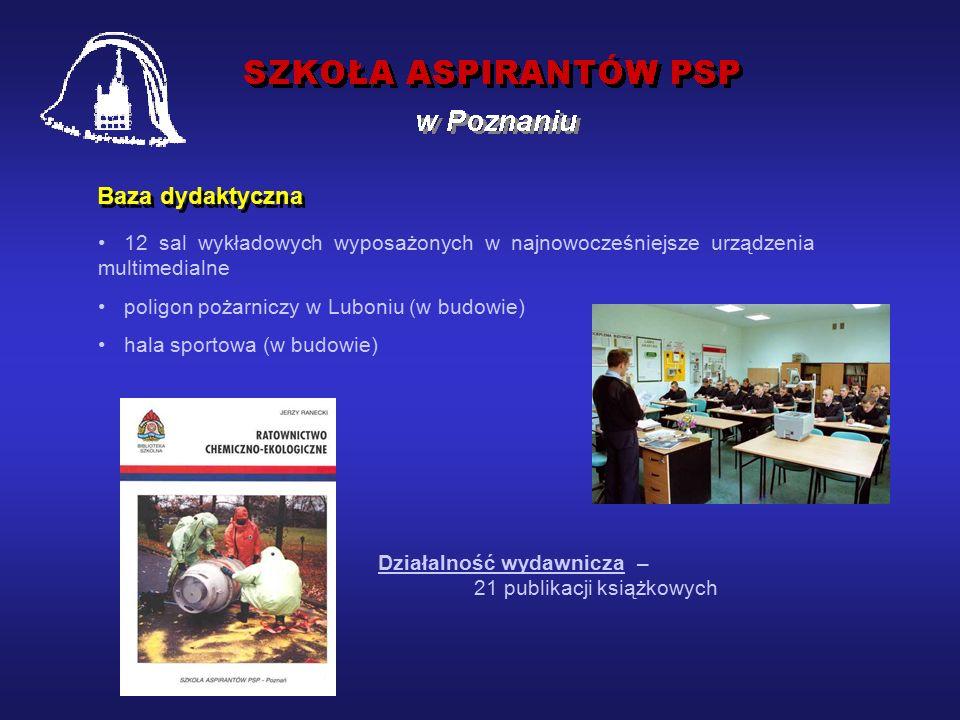 Policealna szkoła zawodowa powołana w 1992 roku w miejsce Szkoły Chorążych Pożarnictwa, przekształconej w 1971 roku ze Szkoły Podoficerów Pożarnictwa.