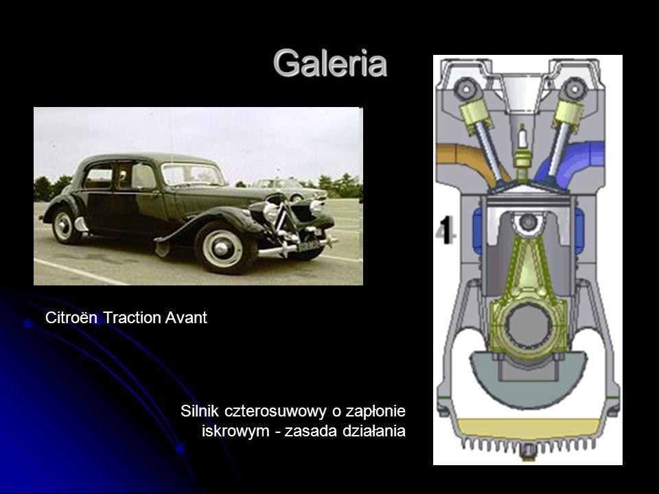 Galeria Citroën Traction Avant Silnik czterosuwowy o zapłonie iskrowym - zasada działania
