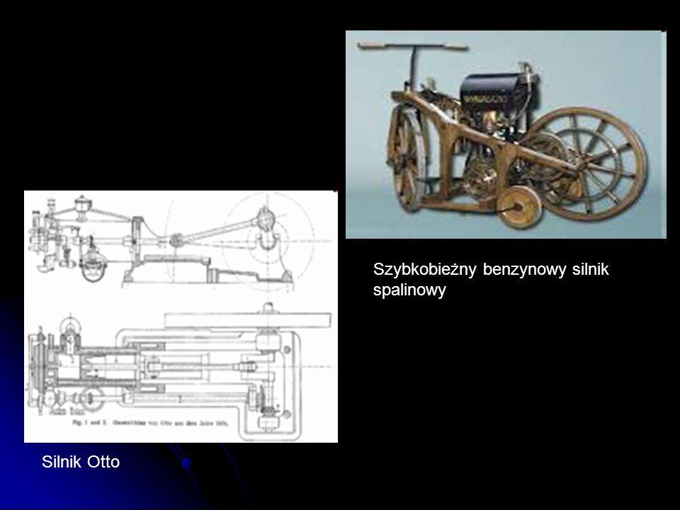 Silnik Otto Szybkobieżny benzynowy silnik spalinowy