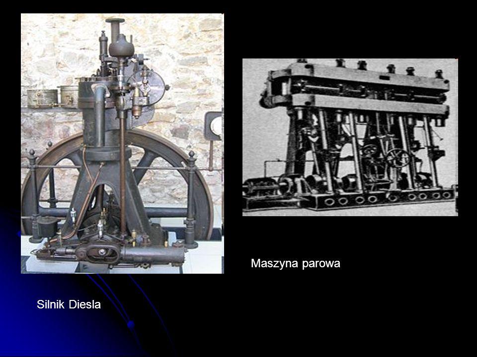 Silnik Diesla Maszyna parowa
