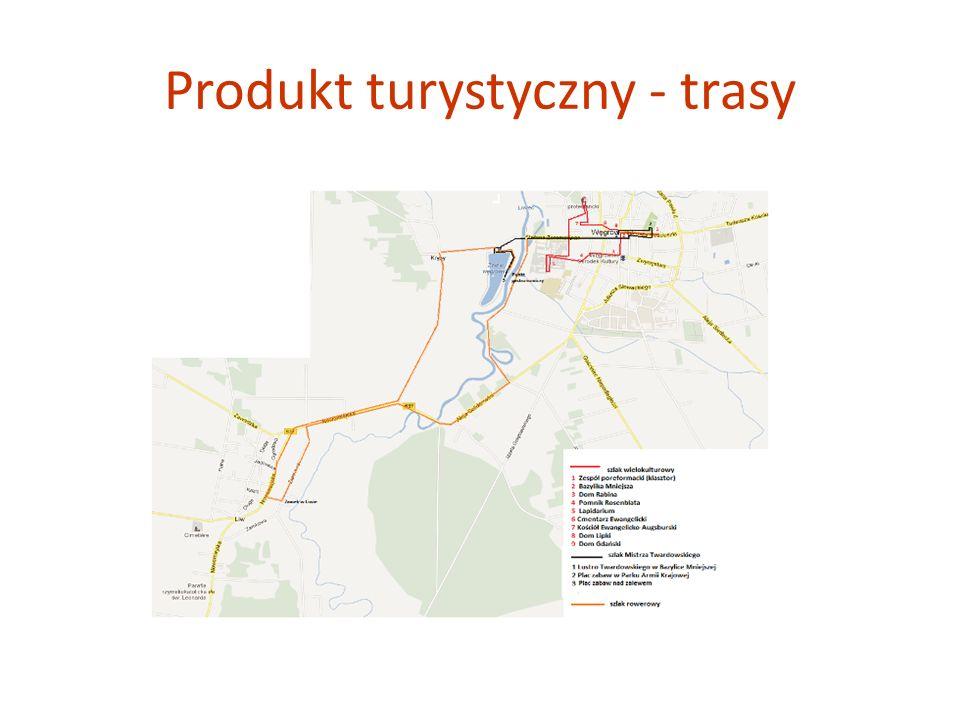 Produkt turystyczny - trasy