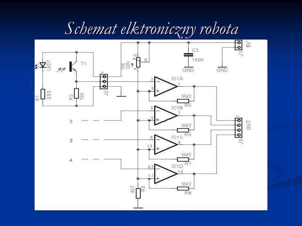 Schemat elktroniczny robota