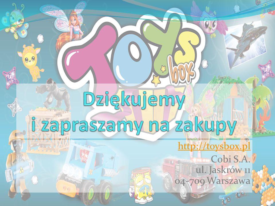 http://toysbox.pl Cobi S.A. ul. Jaskrów 11 04-709 Warszawa